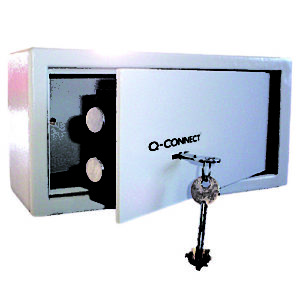 Q-Connect 6 Litre Key Operated Safe